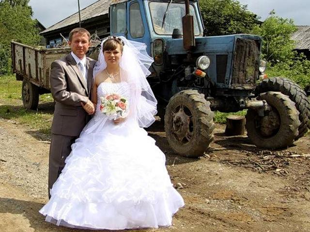 Фото приколы на свадьбе в деревне
