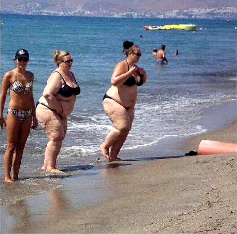 взгляд фото с пляжей толстых дам может быть прощено,как
