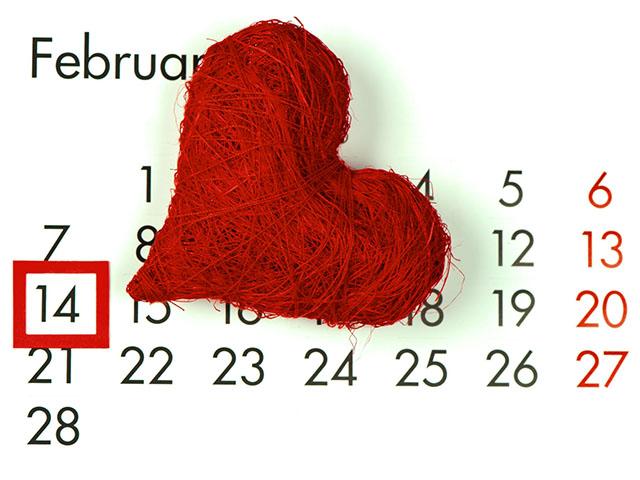 День святого Валентина - Поздравления в картинках
