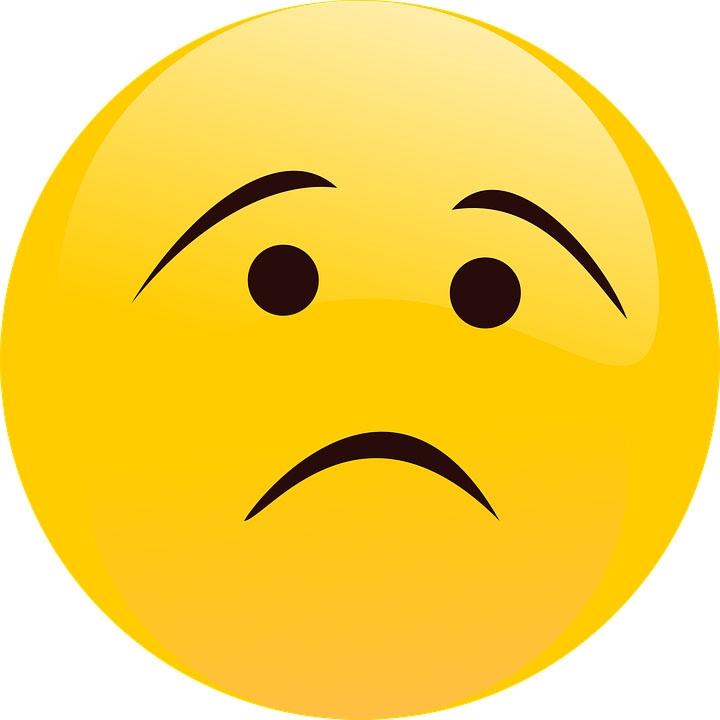 Картинки грустные смайлики разные настроения