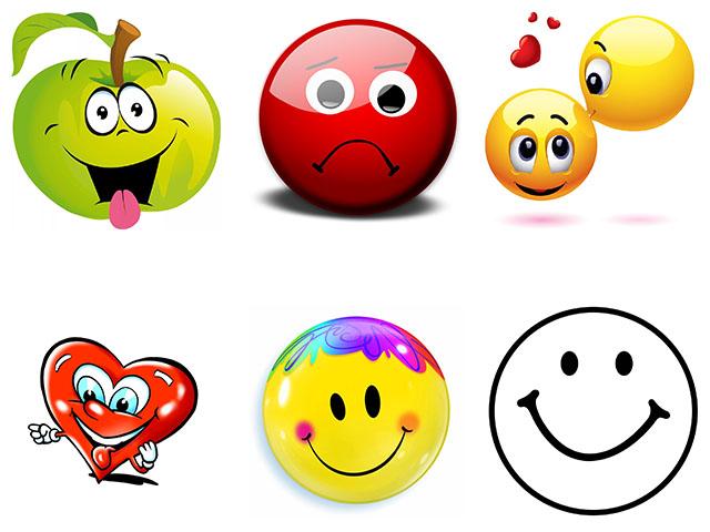Картинки смайлики - разные настроения!
