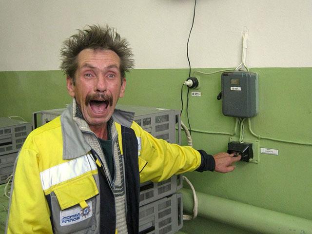 Приколы электриков (60 фото) в картинках, видео