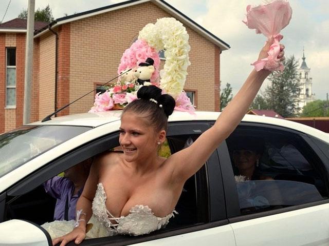 Смешные свадебные приколы (65 фото)