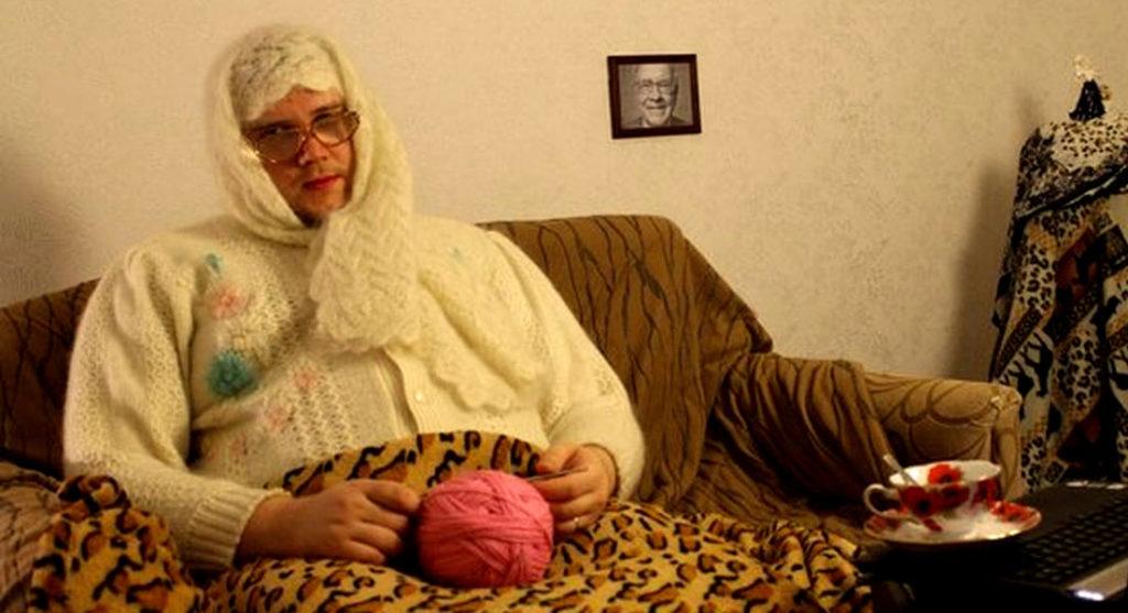Женщины смотреть видео приколы со старушками стеклянный дилдо анал