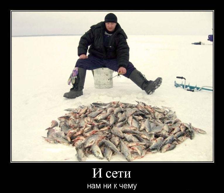 Фото демотиваторы про рыбалку