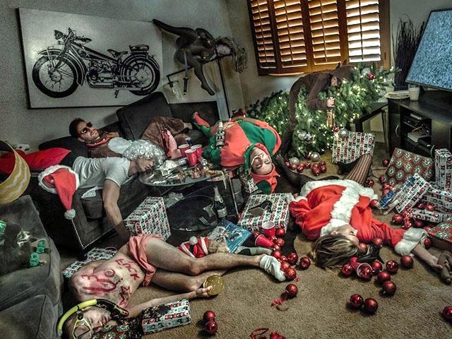 50 фото про новогодние приколы
