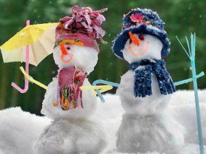 Смешные и прикольные 55 фото снеговиков