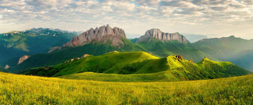 отдых в горах России летом - Адыгея