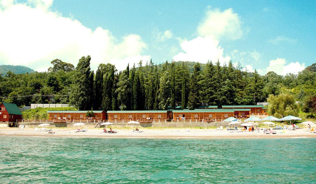 отдых в Абхазии летом - Приморское